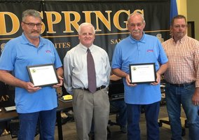 SSPS School Board Recognizes McIntosh Services