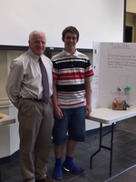 CNGC Student Presents Engineering Project to School Board