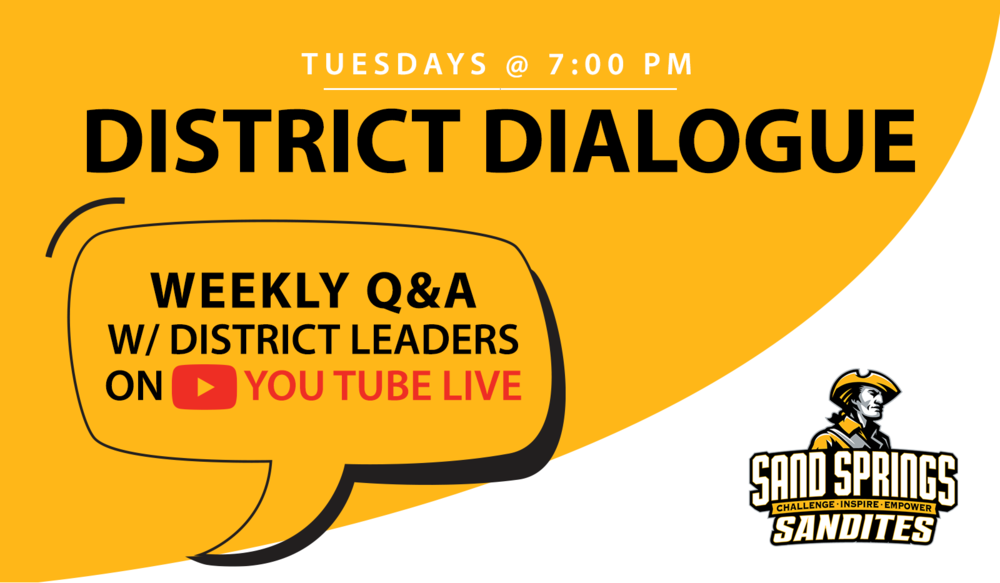 New! Virtual Weekly District Dialogue