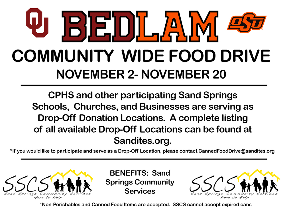 Bedlam Canned Food Drive