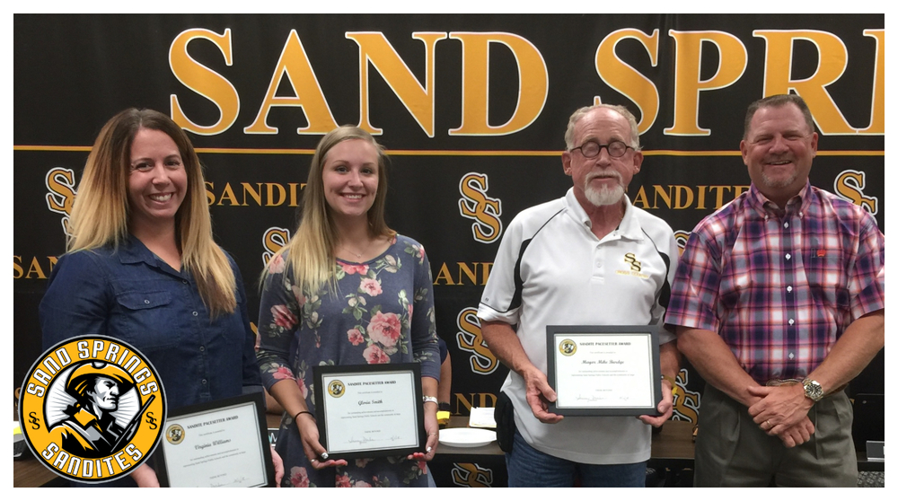 Sandite Cross Country Receives Pacesetter Award