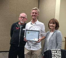 Jacob Smith Receives Sandite Spirit Award for Cross Country