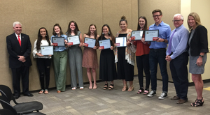 CPHS Student Council Receives Sandite Spirit Award