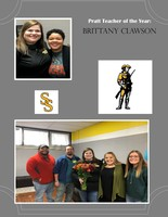 Congratulations to our Teacher of the Year, Miss Brittany Clawson!