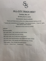 All-City Track Meet