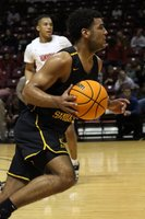 CPHS Basketball: Davon Richardson scores 1,000th career point with Sand Springs