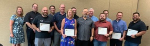 Local Church  Network Receives the Sandite Pacesetter award at B.O.E. Meeting in August