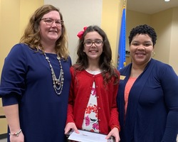 Pratt Student Recognized as Model Student