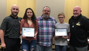 LAFS Students Awarded for Sandite Spirit