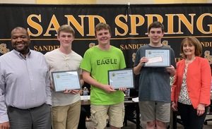 Aeronautics Students Receive Sandite Spirit Award