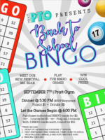 PTO Bingo Night September 7th