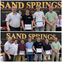 Spirit Award Given to Sandite Wrestlers