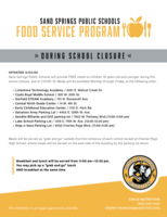 Updated Food Service Sites
