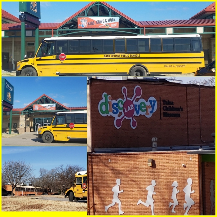 buses at Kids Kows & More also Tulsa Children's Museum