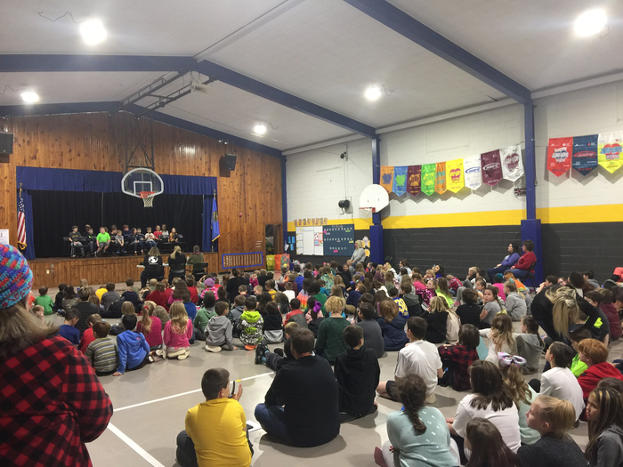 Limestone school wide spelling bee