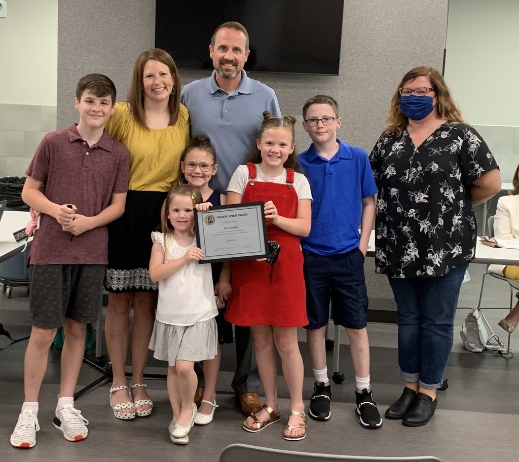 Fitz Family Receives Sandite Spirit Award